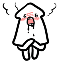 IKAE-SAN - Squid women sticker #66612