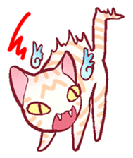 wing&tail(cat) sticker #66820