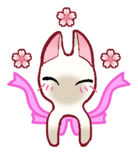 wing&tail(cat) sticker #66826