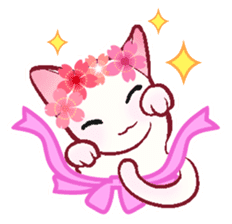 wing&tail(cat) sticker #66827