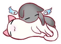 wing&tail(cat) sticker #66829