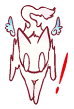 wing&tail(cat) sticker #66831