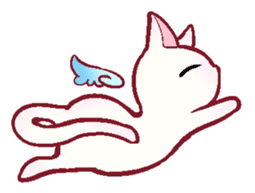 wing&tail(cat) sticker #66845