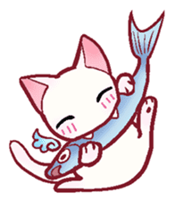 wing&tail(cat) sticker #66851