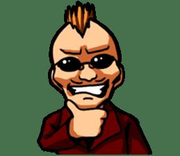 BAD BOY(naughty one) sticker #67794