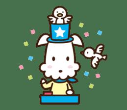 HAPPY DOG WORKS sticker #67826