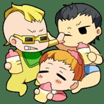 Bad baby sticker #68292