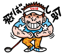 Golfholic sticker #68454