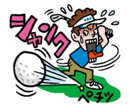 Golfholic sticker #68457