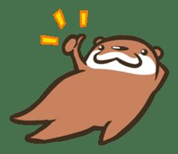 Kotsumetti of Small-clawed otter sticker #68499