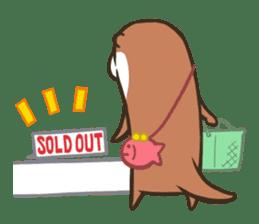 Kotsumetti of Small-clawed otter sticker #68503