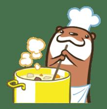 Kotsumetti of Small-clawed otter sticker #68506