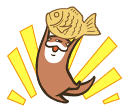 Kotsumetti of Small-clawed otter sticker #68509