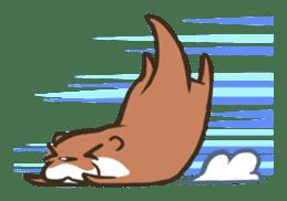Kotsumetti of Small-clawed otter sticker #68512