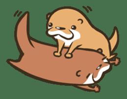 Kotsumetti of Small-clawed otter sticker #68515