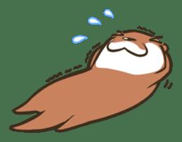 Kotsumetti of Small-clawed otter sticker #68516