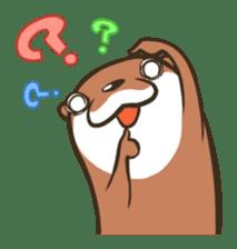 Kotsumetti of Small-clawed otter sticker #68521