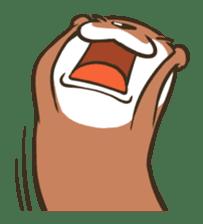 Kotsumetti of Small-clawed otter sticker #68522