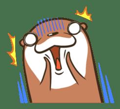 Kotsumetti of Small-clawed otter sticker #68523