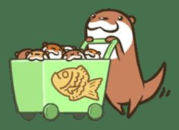 Kotsumetti of Small-clawed otter sticker #68529