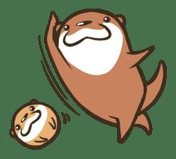 Kotsumetti of Small-clawed otter sticker #68531