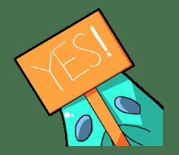 Jelly-kun Pururun sticker #69698