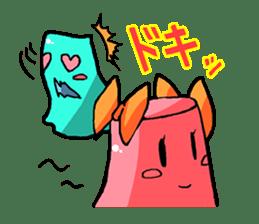 Jelly-kun Pururun sticker #69700