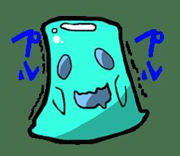 Jelly-kun Pururun sticker #69709