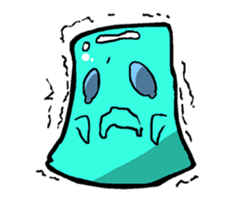 Jelly-kun Pururun sticker #69710