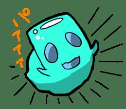 Jelly-kun Pururun sticker #69711