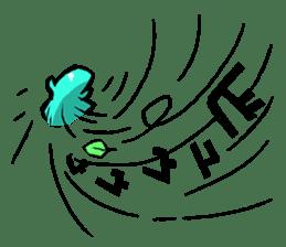 Jelly-kun Pururun sticker #69713