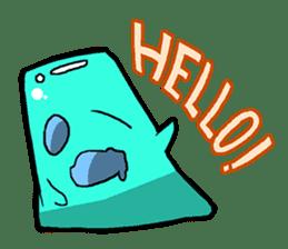 Jelly-kun Pururun sticker #69724