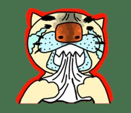 Nukokichi sticker #70835