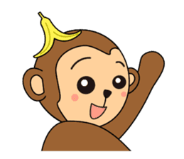 Monkey Akkyun sticker #70942