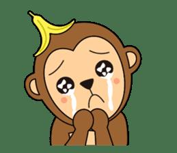 Monkey Akkyun sticker #70944