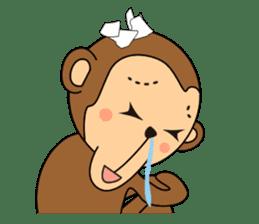 Monkey Akkyun sticker #70951