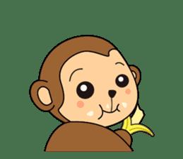 Monkey Akkyun sticker #70957
