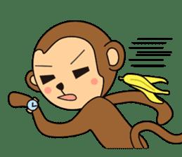 Monkey Akkyun sticker #70958