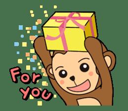 Monkey Akkyun sticker #70960