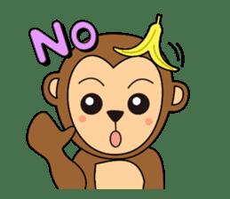Monkey Akkyun sticker #70965