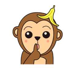 Monkey Akkyun sticker #70968