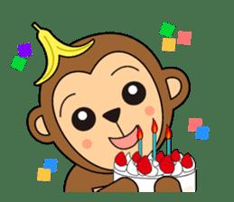 Monkey Akkyun sticker #70970