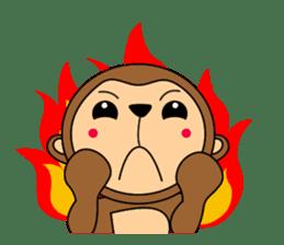 Monkey Akkyun sticker #70972