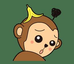 Monkey Akkyun sticker #70973