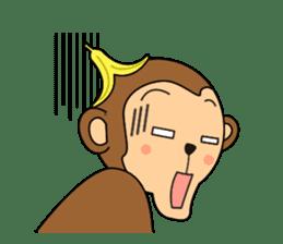 Monkey Akkyun sticker #70978