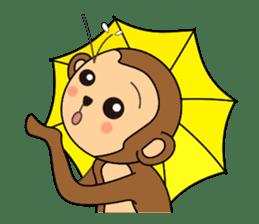 Monkey Akkyun sticker #70979