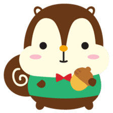 Squly & Friends: Happy Forest sticker #71022