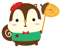 Squly & Friends: Happy Forest sticker #71030