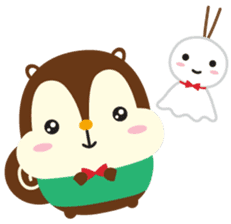 Squly & Friends: Happy Forest sticker #71031