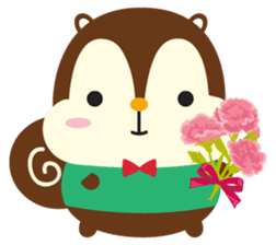 Squly & Friends: Happy Forest sticker #71033